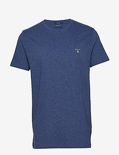 ORIGINAL SS T-SHIRT - kortärmade t-shirts - dk. cobalt blue mel