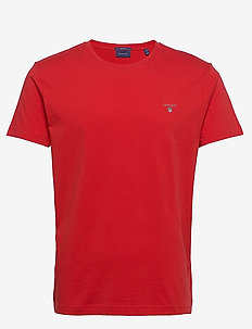 ORIGINAL SS T-SHIRT - short-sleeved t-shirts - fiery red