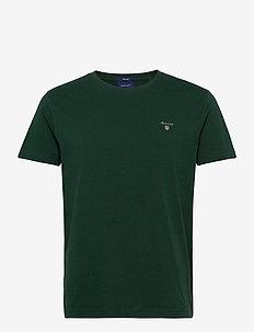 ORIGINAL SS T-SHIRT - short-sleeved t-shirts - tartan green
