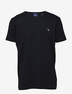 ORIGINAL SLIM T-SHIRT - basic t-shirts - black