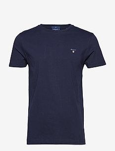 ORIGINAL SLIM T-SHIRT - basic t-shirts - evening blue