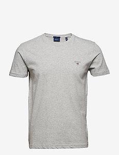 ORIGINAL SLIM T-SHIRT - basic t-shirts - light grey melange