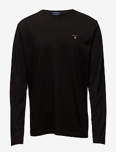 THE ORIGINAL LS T-SHIRT - long-sleeved t-shirts - black