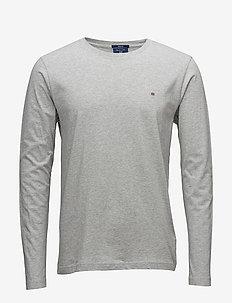 THE ORIGINAL LS T-SHIRT - basic t-shirts - light grey melange