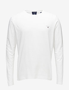 THE ORIGINAL LS T-SHIRT - long-sleeved t-shirts - white