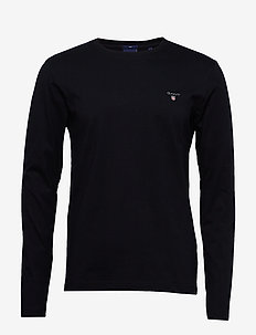 THE ORIGINAL SLIM LS T-SHIRT - basic t-shirts - black