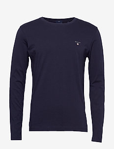 THE ORIGINAL SLIM LS T-SHIRT - basic t-shirts - evening blue