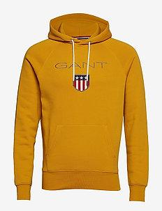 SHIELD HOODIE - hoodies - ivy gold