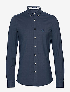 TP SLIM PIQUE BD - basic skjorter - marine