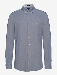 TP SLIM PIQUE BD - basic shirts - persian blue