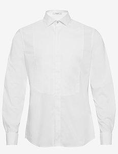 G1. TP TUXEDO SHIRT SLIM SPREAD - smokkipaidat - white