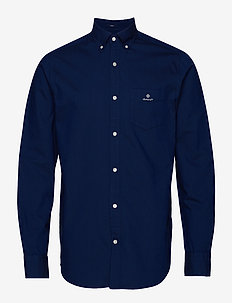 D1. OXFORD SHIRT REG BD - PERSIAN BLUE