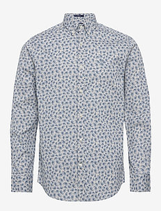 D1. PAISLEY PRINT REG BD - casual shirts - putty