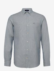 D1. BASKET WEAVE FIL A FIL REG BD - chemises décontractées - atlantic sea