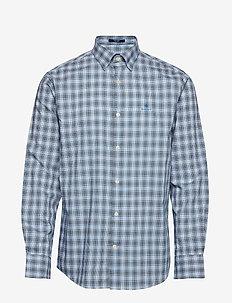 D1. TP OXFORD PLAID REG HBD - checkered shirts - white