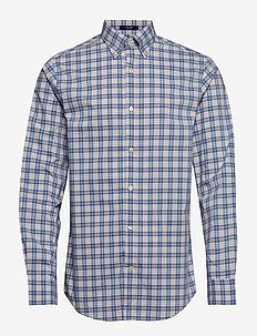D1. TP BROADCLOTH PLAID REG BD - CORONET BLUE