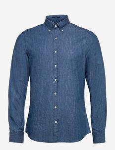 SLIM INDIGO BD - chemises basiques - semi light blue