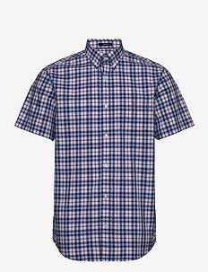 D1. TP BC MULTI CHECK REG BD SS - rutiga skjortor - arancia