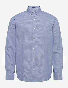 D1. BC STRUCTURE REG BD - basic skjorter - crisp blue