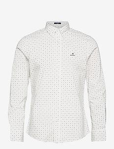 D1.TP SLIM BC SIGNAL DOT BD - casual shirts - eggshell