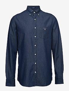 THE INDIGO REG BD - chemises en jean - dark indigo