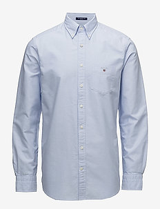 THE OXFORD SHIRT REG BD - basic shirts - capri blue