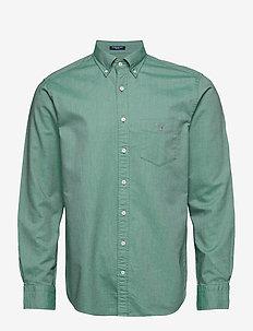REG OXFORD BD - basic skjorter - ivy green