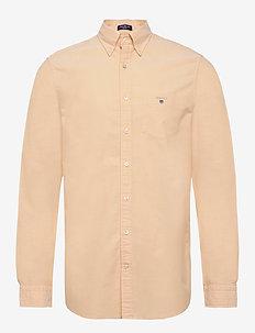 REG OXFORD BD - basic skjorter - mimosa yellow