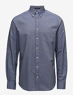 REG OXFORD BD - basic skjorter - persian blue