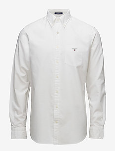 REG OXFORD BD - basic overhemden - white