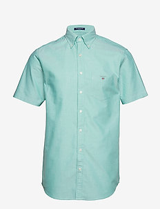 THE OXFORD SHIRT REG SS BD - BLARNEY GREEN