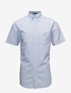 THE OXFORD SHIRT REG SS BD - oxford shirts - capri blue