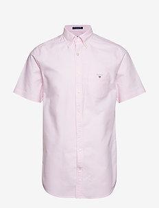 REG OXFORD SHIRT SS BD - oxford shirts - light pink