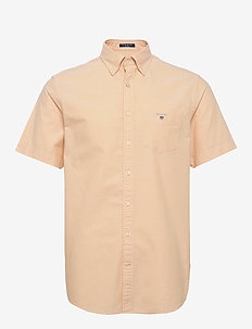 REG OXFORD SHIRT SS BD - oxford shirts - mimosa yellow