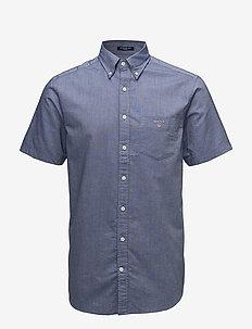 REG OXFORD SHIRT SS BD - oxford shirts - persian blue
