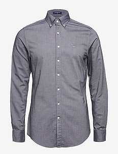 THE OXFORD SHIRT SLIM BD - BLACK