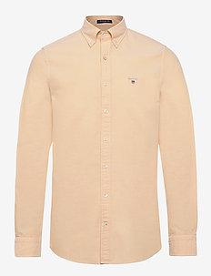 SLIM OXFORD SHIRT BD - basic shirts - mimosa yellow