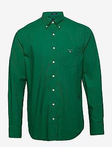 REG BROADCLOTH BD - oxford-hemden - ivy green