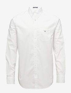 REG BROADCLOTH BD - WHITE
