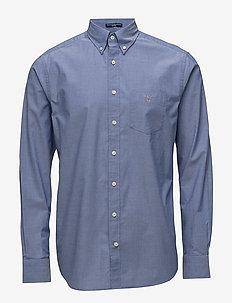 REG BROADCLOTH BD - business skjorter - college blue
