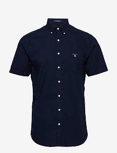 REG BROADCLOTH SS BD - short-sleeved shirts - marine