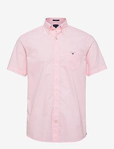 REG BROADCLOTH SS BD - short-sleeved shirts - shadow rose