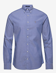 THE BROADCLOTH SLIM BD - business skjortor - college blue