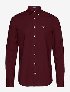 THE BROADCLOTH SLIM BD - PORT RED