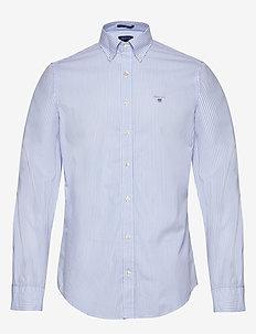 THE BROADCLOTH BANKER SLIM BD - business shirts - capri blue