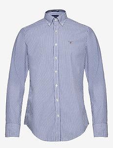 THE BROADCLOTH BANKER SLIM BD - business shirts - college blue