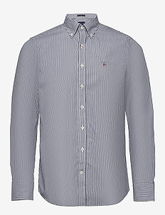THE BROADCLOTH BANKER SLIM BD - business shirts - persian blue