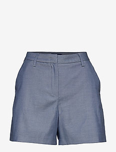 D1. CHAMBRAY SHORTS - PERSIAN BLUE