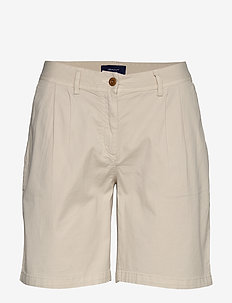 D2. SUNFADED MODERN CHINO SHORTS - chino shorts - putty