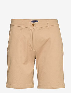 D1. CLASSIC CHINO SHORTS - chino shorts - dark khaki